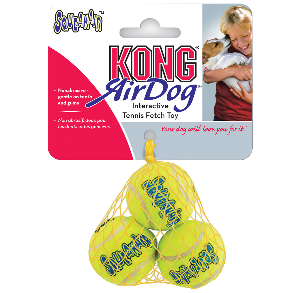 Air KONG Squeaker Tennis Ball - Extra Small (3 Pack) im test