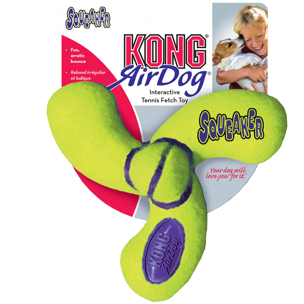 Air KONG Squeaker Spinner - Large im test