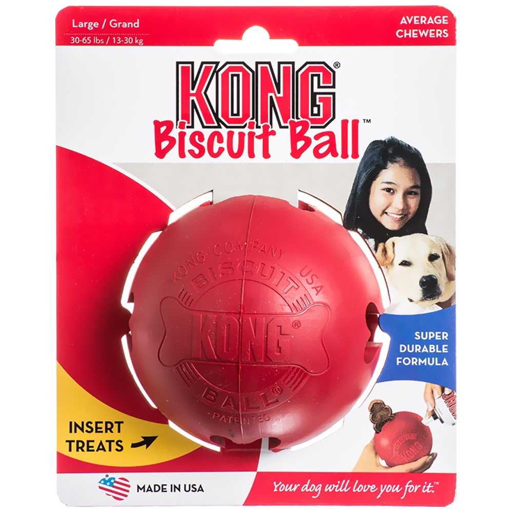 KONG Biscuit Ball - LARGE im test