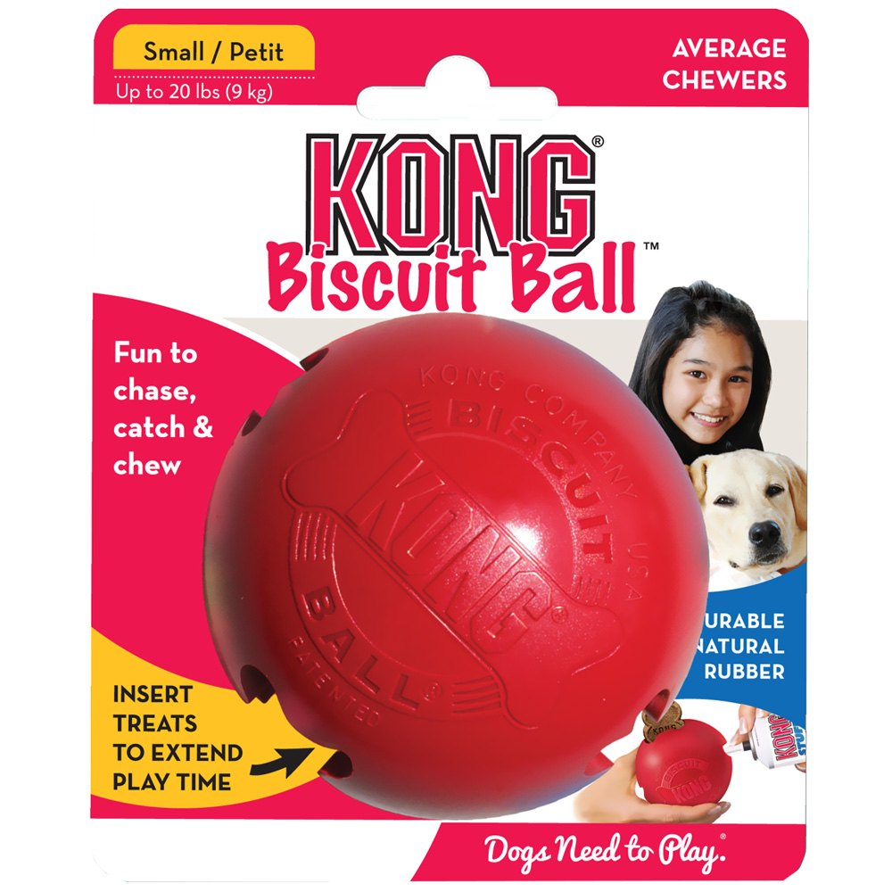 KONG Biscuit Ball - SMALL im test