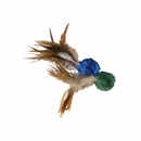 KONG Naturals Crinkle Ball w/Feathers Teaser