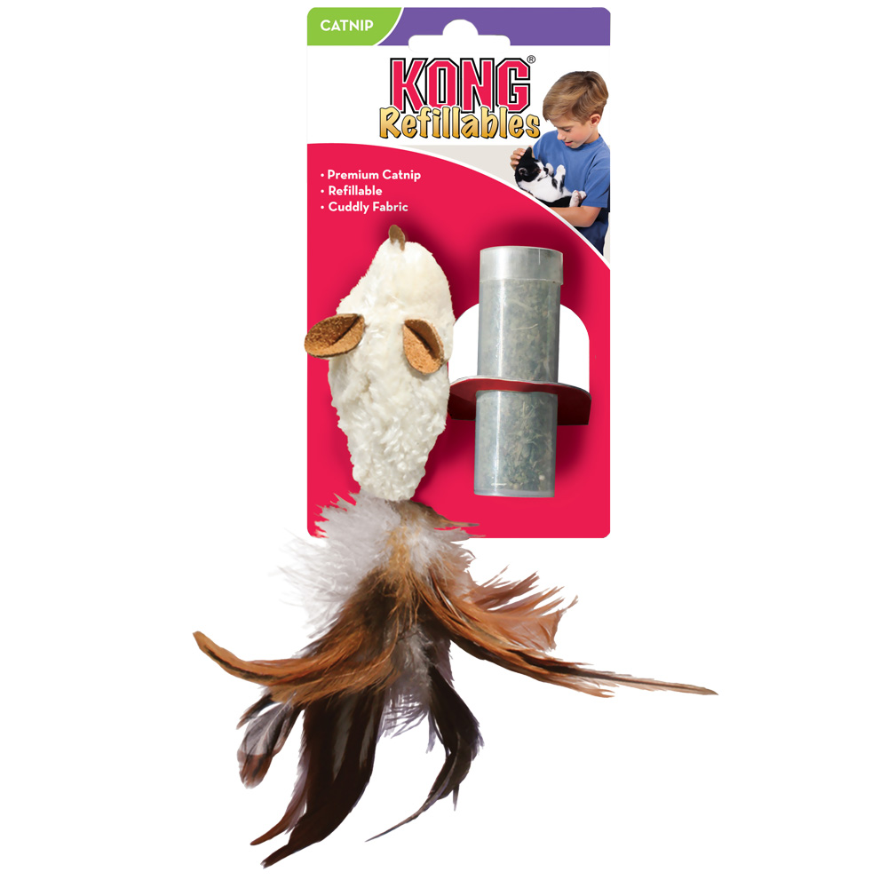 KONG Feather Mouse Catnip Toy im test