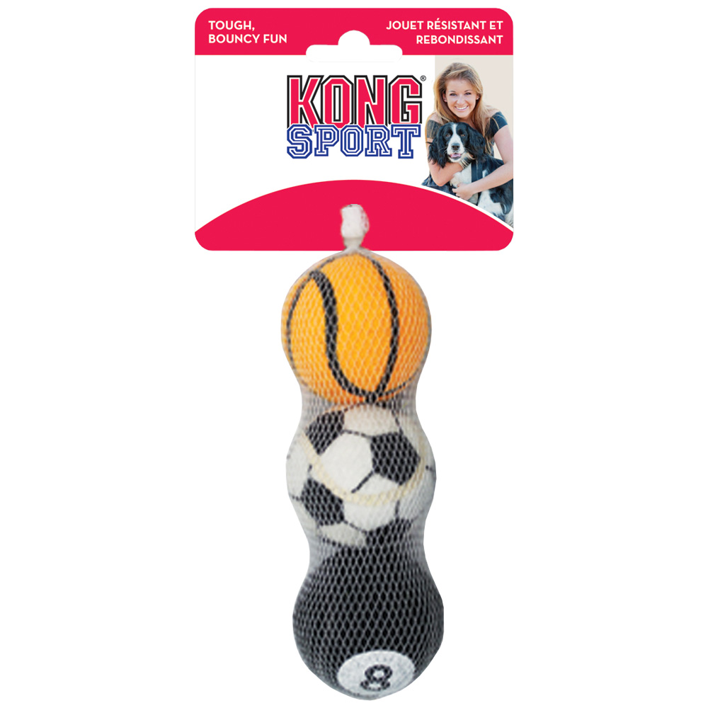 KONG Sports Balls - Small 3-Pack (Assorted) im test