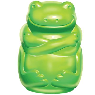 KONG Squeezz JELS Frog - Large