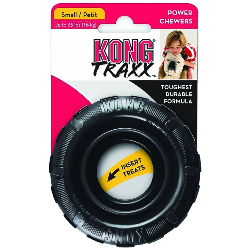 KONG Traxx Tire Toy - Small im test