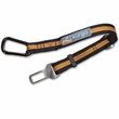 Kurgo Direct to Seatbelt Tether - Black/Orange