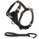 Kurgo Enhanced Strength Tru-Fit Smart Harness with Seatbelt Tether (Large) - Black