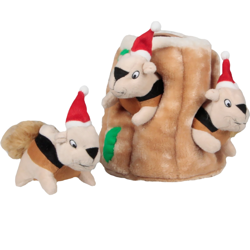 Image of Outward Hound Holiday Hide-A-Squirrel - Large