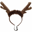 Kyjen Holiday LED Headband Antlers - Large