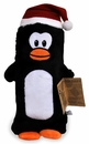 Kyjen Plush Puppies Water Bottle Buddies Penguin Toy