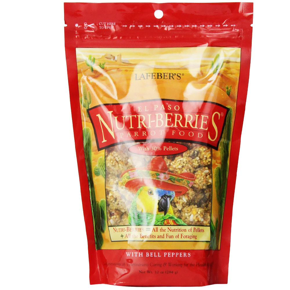 Lafeber El Paso Nutri-Berries with Bell Pepper Parrot Food (10 oz) im test