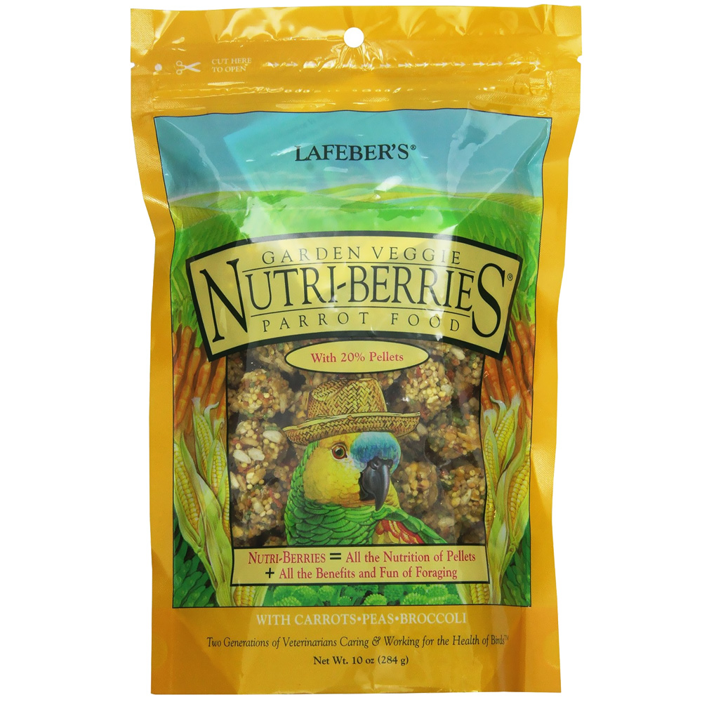 Lafeber Garden Veggie Nutri-Berries with Vegetables Parrot Food (10 oz) im test