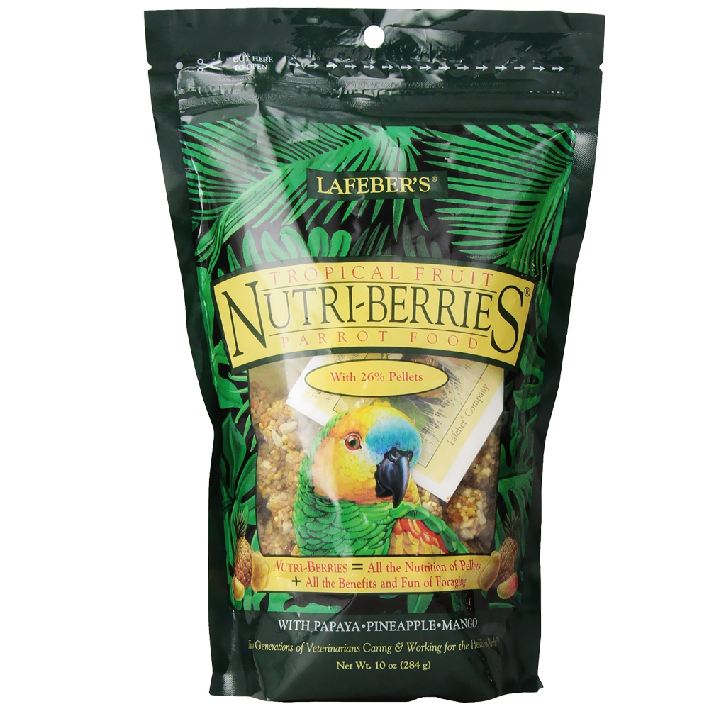 Lafeber Tropical Fruit Nutri-Berries Parrot Food (10 oz) im test
