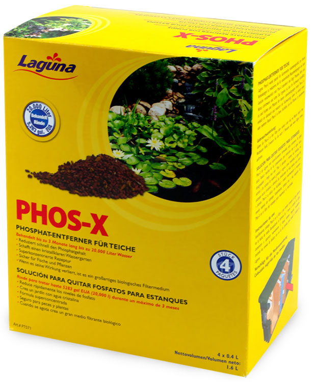 Image of Laguna Phos-X Phosphate Remover for Ponds (4 Pack)
