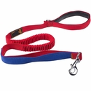 LaiFug Bungee Dog Leash - Red (48 Inch)
