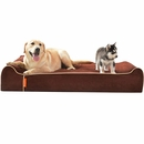 "LaiFug Orthopedic Memory Foam Pet Bed - Chocolate (Jumbo 50""x36""x10"")"