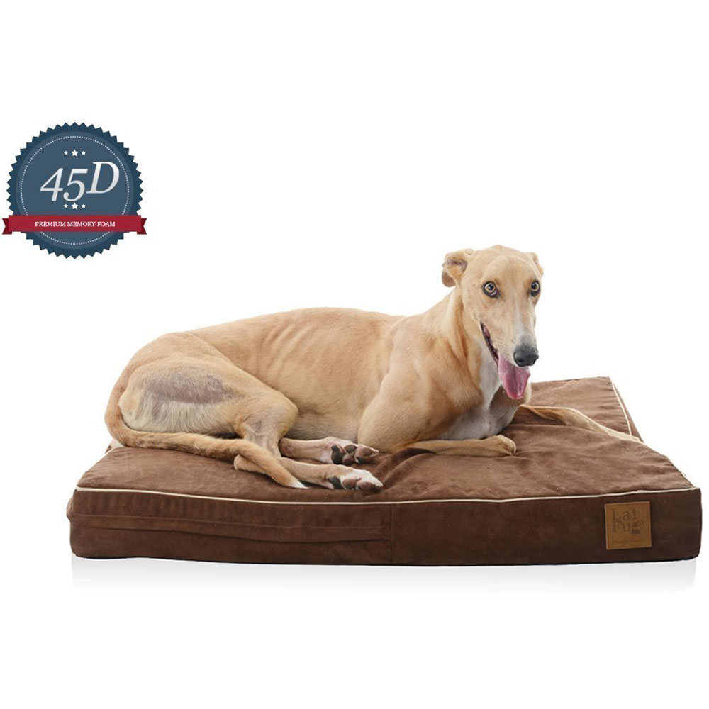 LAIFUG-ORTHOPEDIC-PET-BED-CHOCOLATE-MEDIUM
