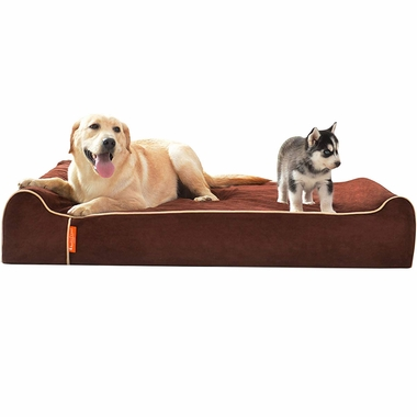 LAIFUG-ORTHOPEDIC-PET-BED-SLATE-GREY-JUMBO