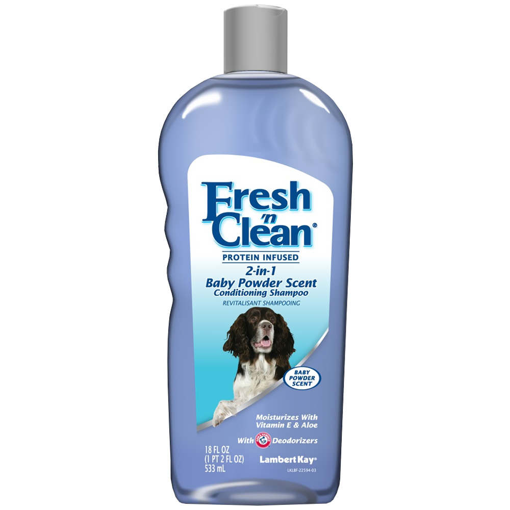 Fresh 'N Clean 2-in-1 Conditioning Shampoo - Baby Powder Scent (18 oz) im test