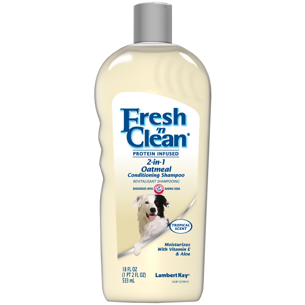 Fresh 'N Clean 2-in-1 Oatmeal Conditioning Shampoo - Tropical Scent (18 oz) im test