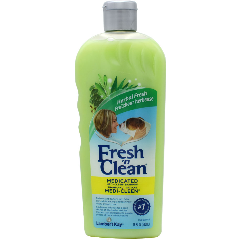 Lambert Kay Fresh 'N Clean Medi-Clean Medicated Shampoo - Fragrance Free (18 oz) im test