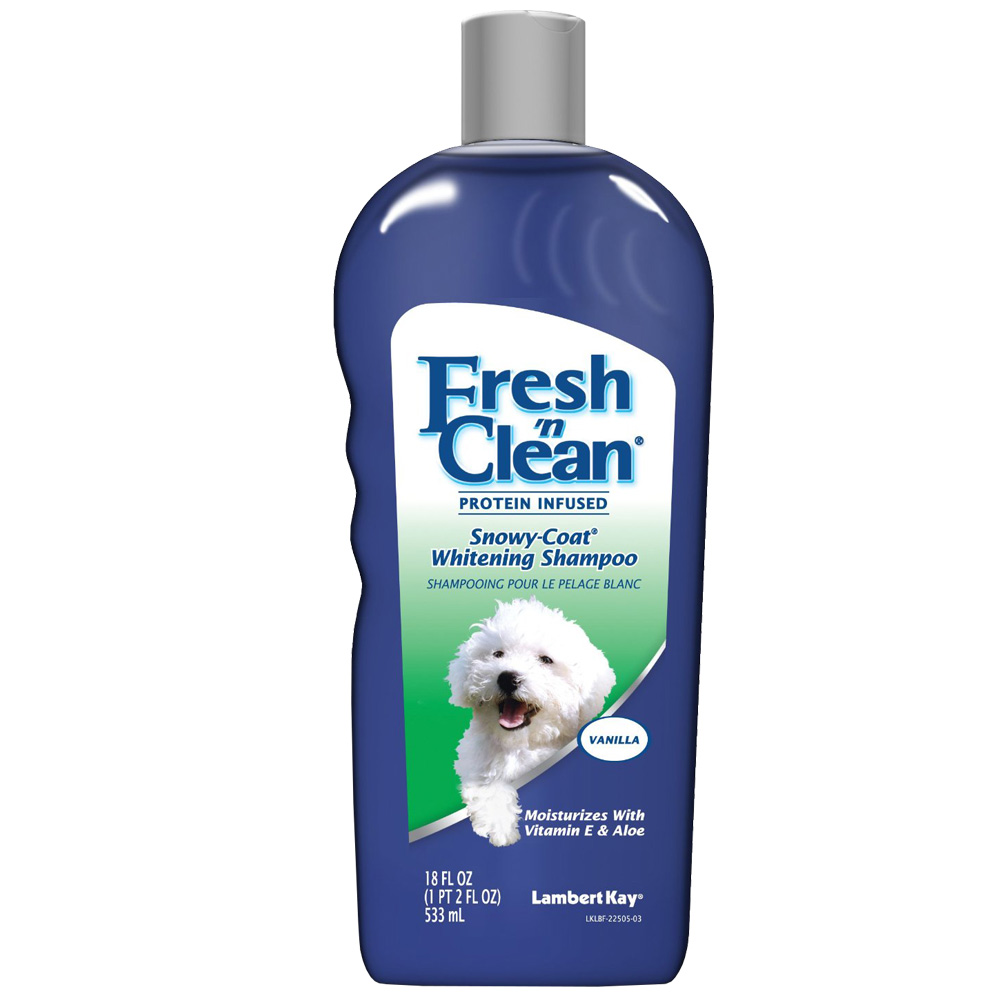 Fresh 'N Clean Snowy Coat Whitening Shampoo - Vanilla (18 oz) im test