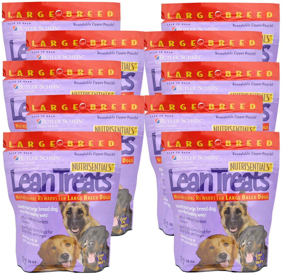Lean Treats - Nutritional Rewards for Large Breed Dogs 10-PACK (6.3 lbs) im test