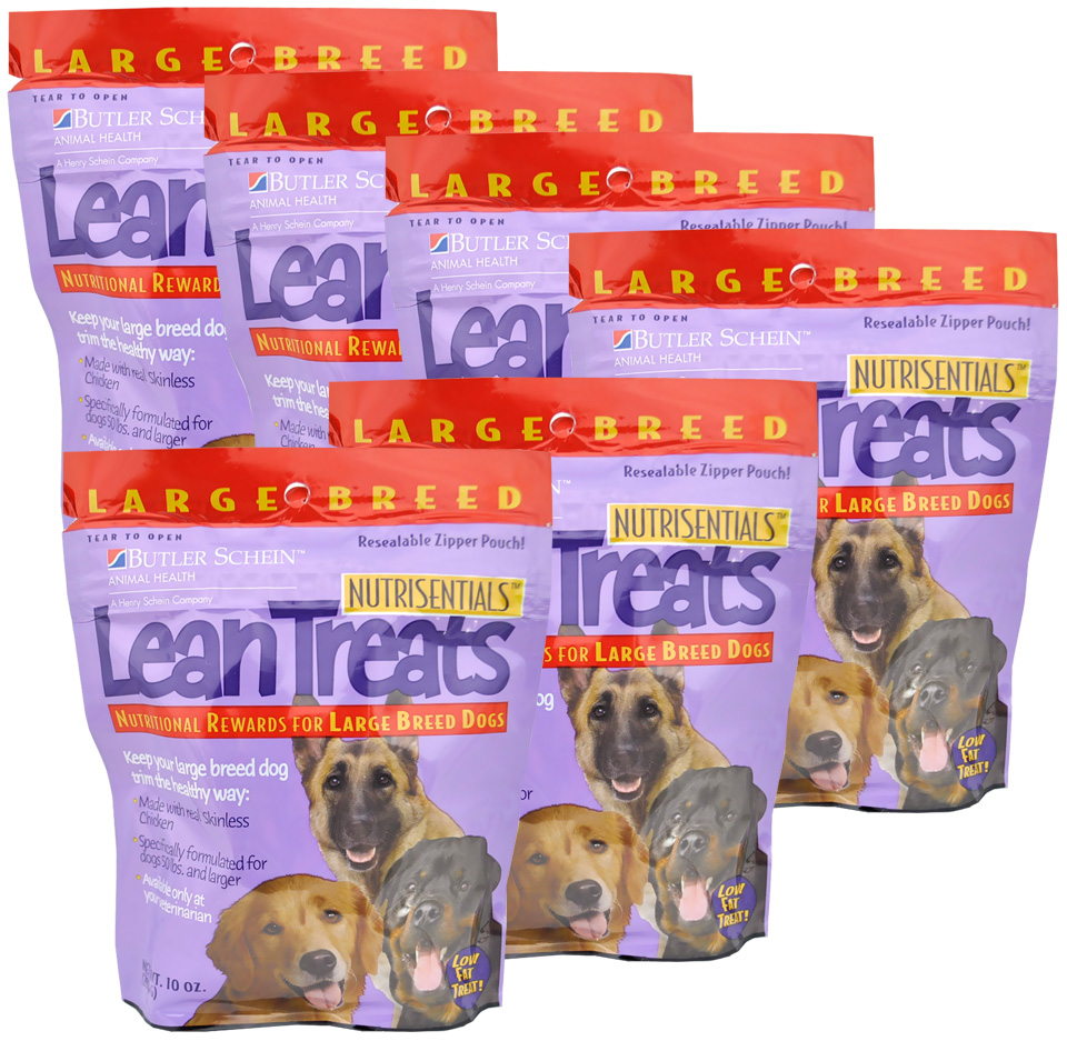 Lean Treats - Nutritional Rewards for Large Breed Dogs 6-PACK (3.75 lbs) im test