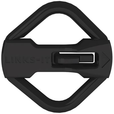 LINKS-IT Pet Tag Connector - Black