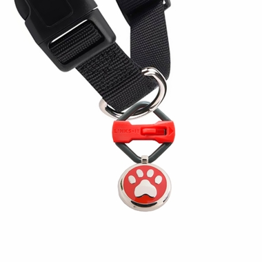 LINKS-IT-PET-ID-TAG-CONNECTOR-YELLOW