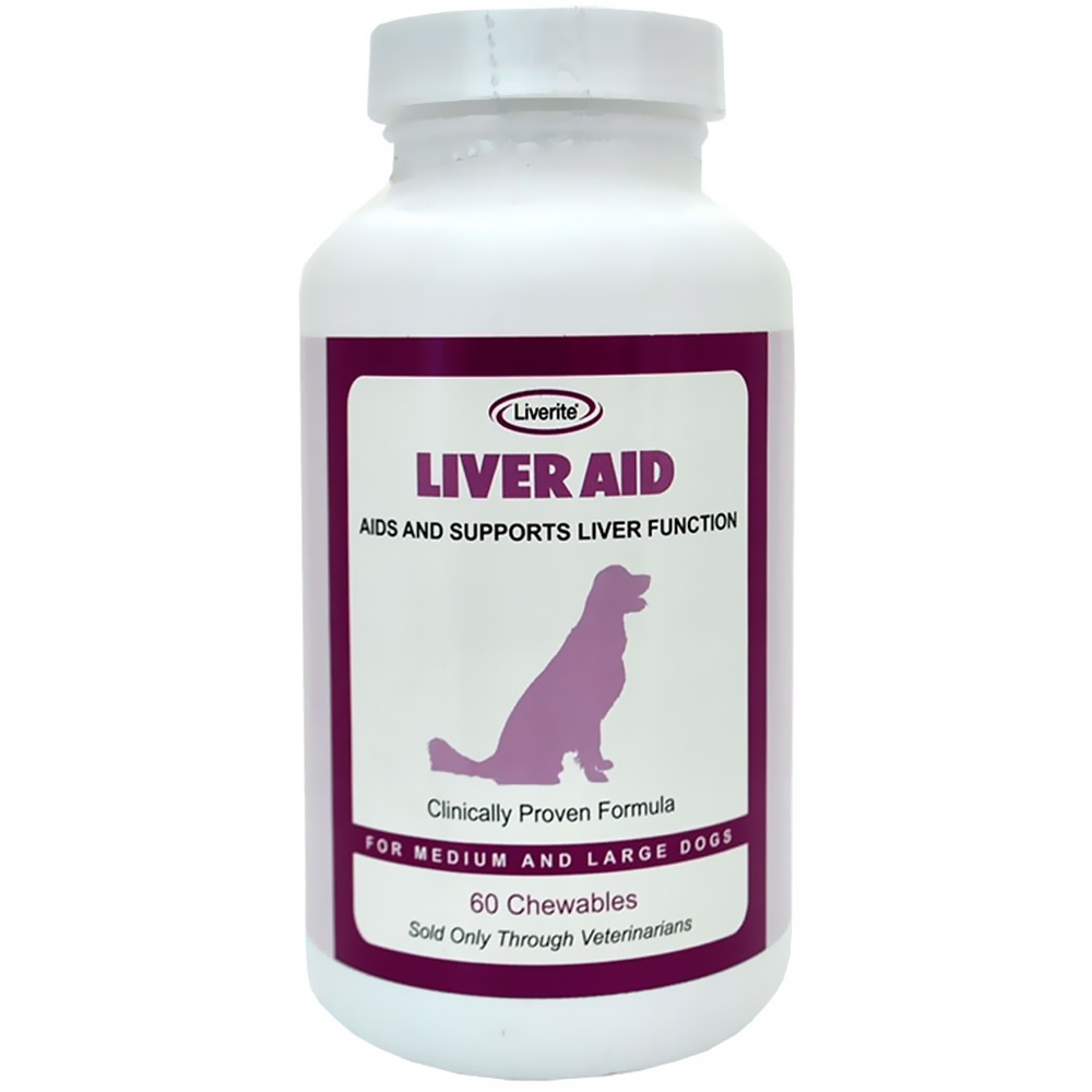 Liverite Liver Aid for Medium and Large Dogs (60 Chewables) im test
