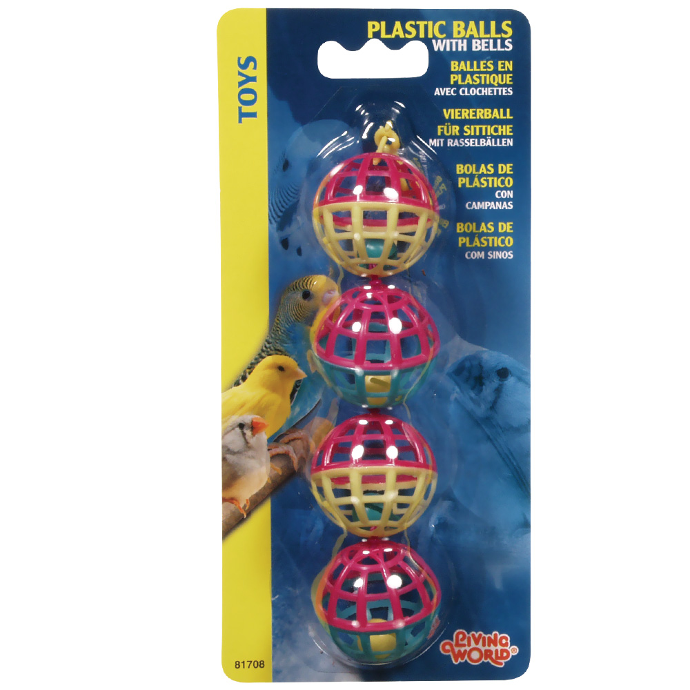 LIVING-WORLD-4-PLASTIC-BALLS-WITH-BELLS