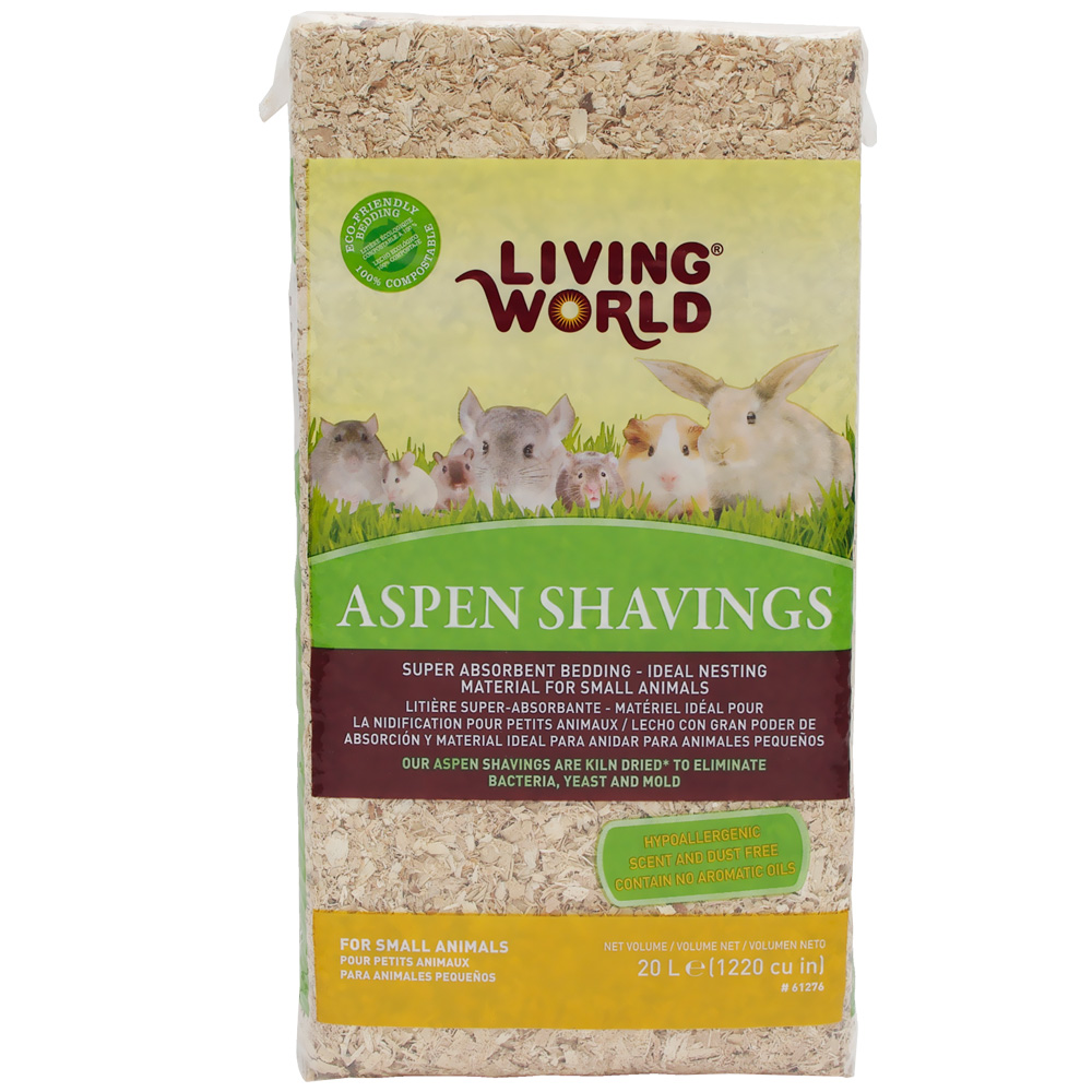 Living World Aspen Shavings (1200 cu inch) im test
