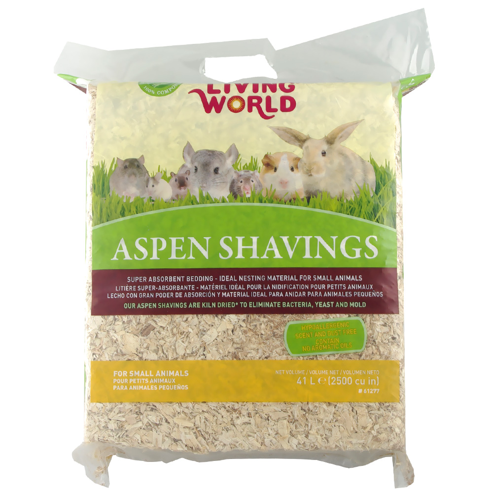 Living World Aspen Shavings - 2500 cu inch - from EntirelyPets