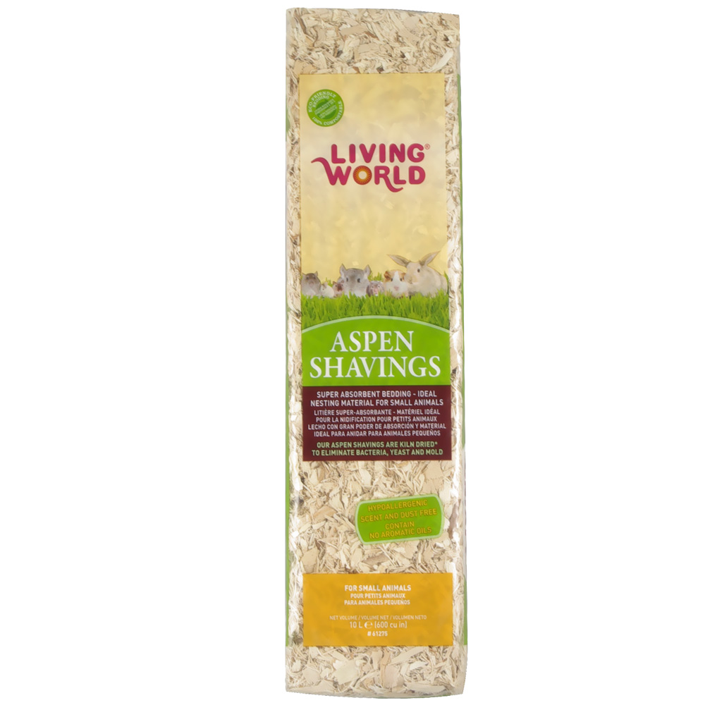 Living World Aspen Shavings (600 cu inch) im test