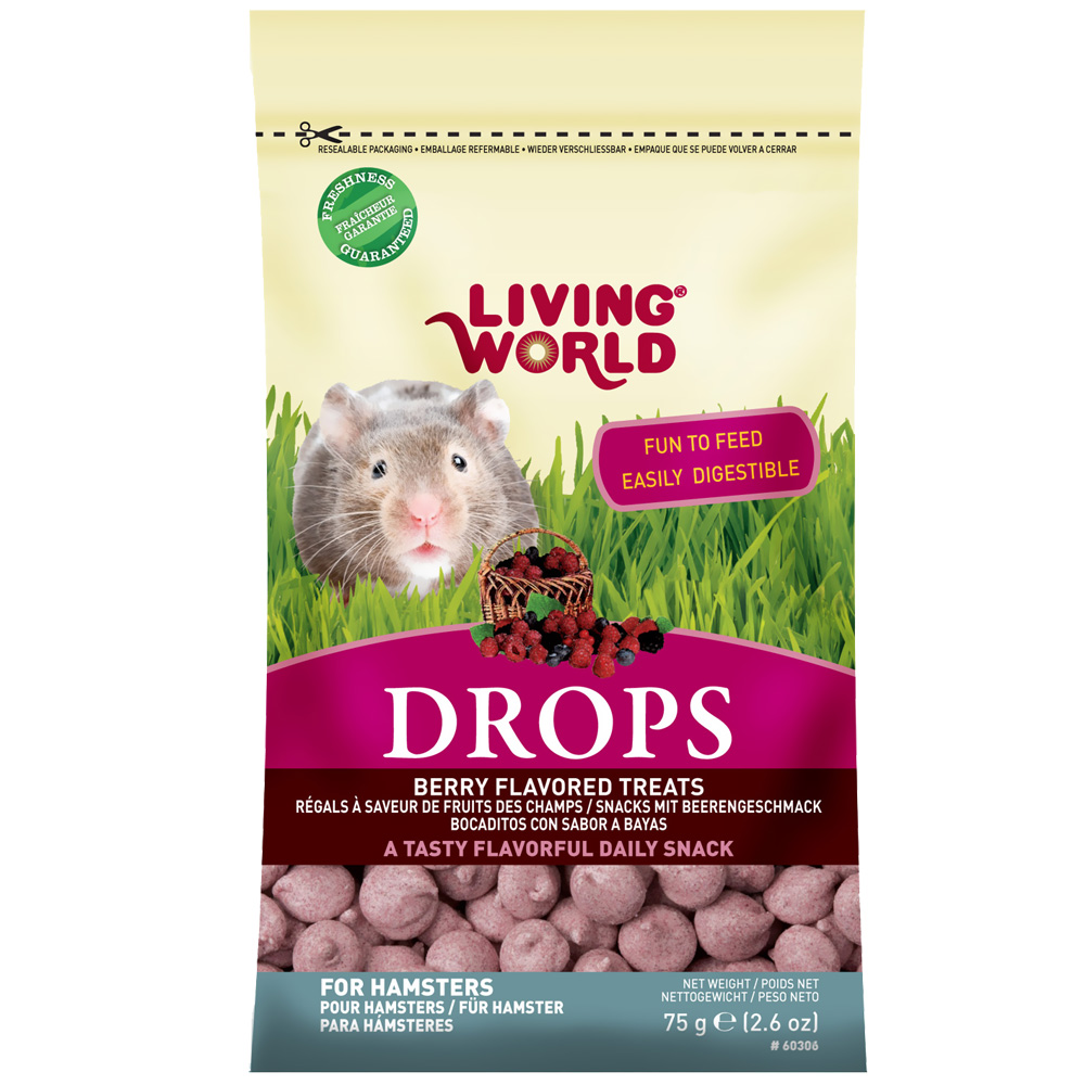 Living World Hamster Treat - 2.6 oz - Field from EntirelyPets