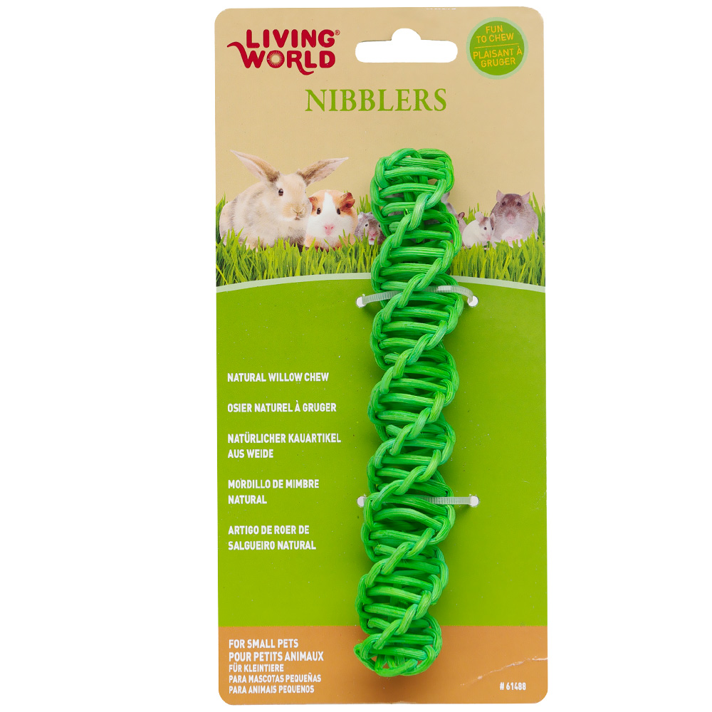 Living World Nibblers Willow Chews Stick im test
