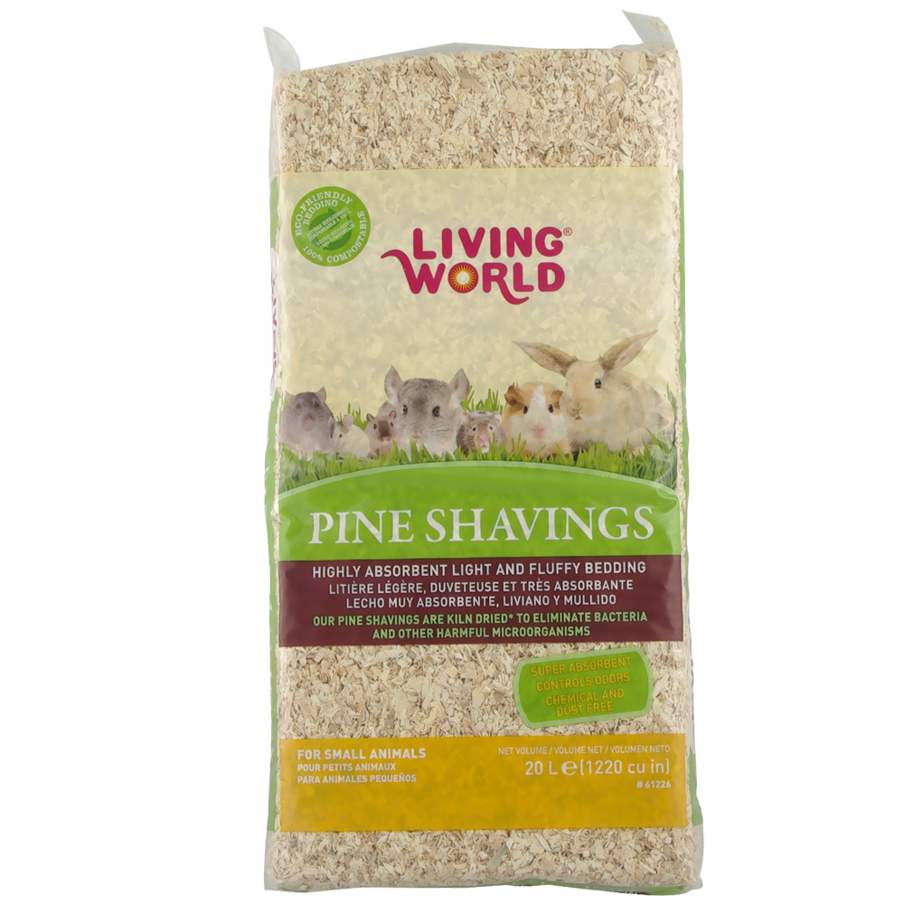 Living World Pine Shavings - 1200 cu inch - from EntirelyPets