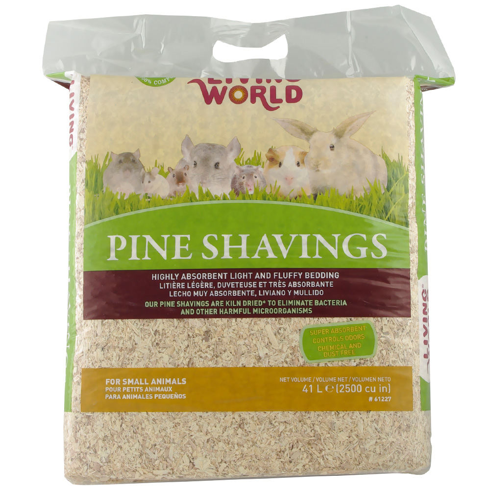 Living World Pine Shavings (2500 cu inch) im test