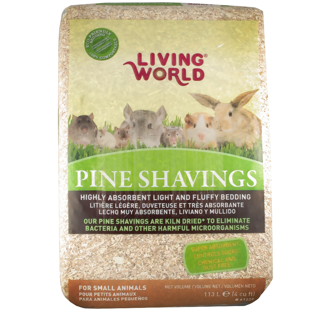 Living World Pine Shavings - 4 cu inch - from EntirelyPets