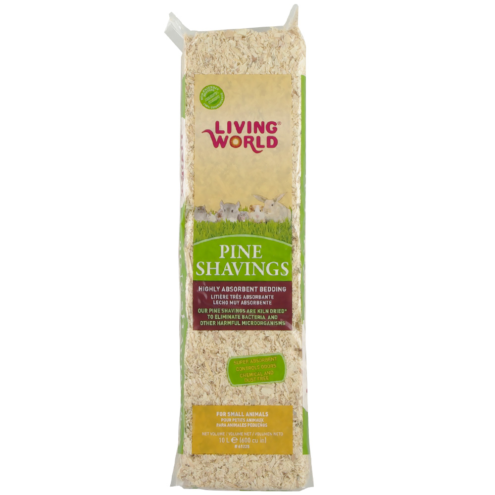 Living World Pine Shavings (600 cu inch) im test