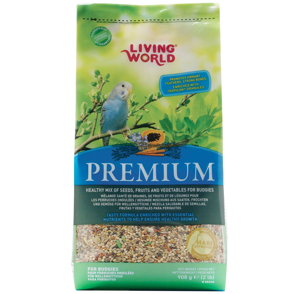 Living World Premium Budgie (2 lb) im test