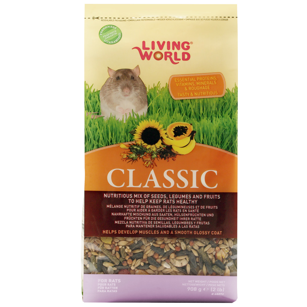 Living World Premium Rat/Mouse Mix - 2 lb - from EntirelyPets