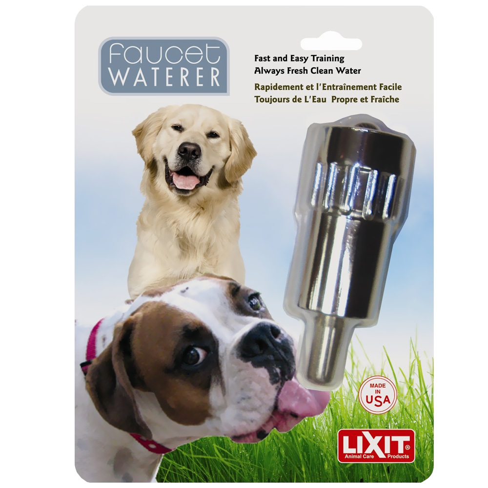 Lixit Faucet Waterer for Dogs im test