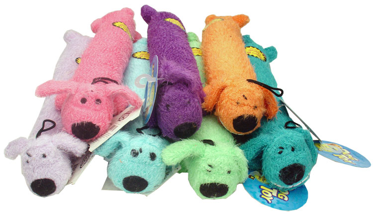 Loofa Dog - 12 Inches - Assorted Colors im test