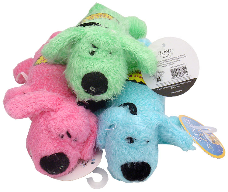 Loofa Dog - 6 Inches - Assorted Colors im test