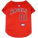 Los Angeles Angels Dog Jersey - Large