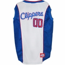 Los Angeles Clippers Dog Jersey - Medium