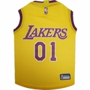 Los Angeles Lakers Dog Jersey - XSmall