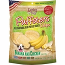 Loving Pets Puffsters Banana & Chicken Treats for Dogs (4 oz)